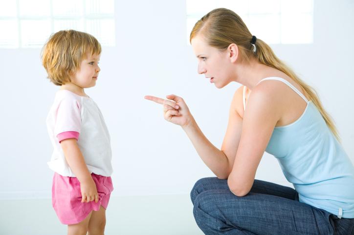 Как правильно наказывать детей?