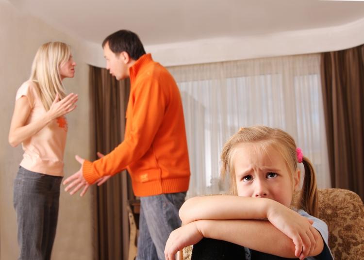 ссоры родителей при ребенке