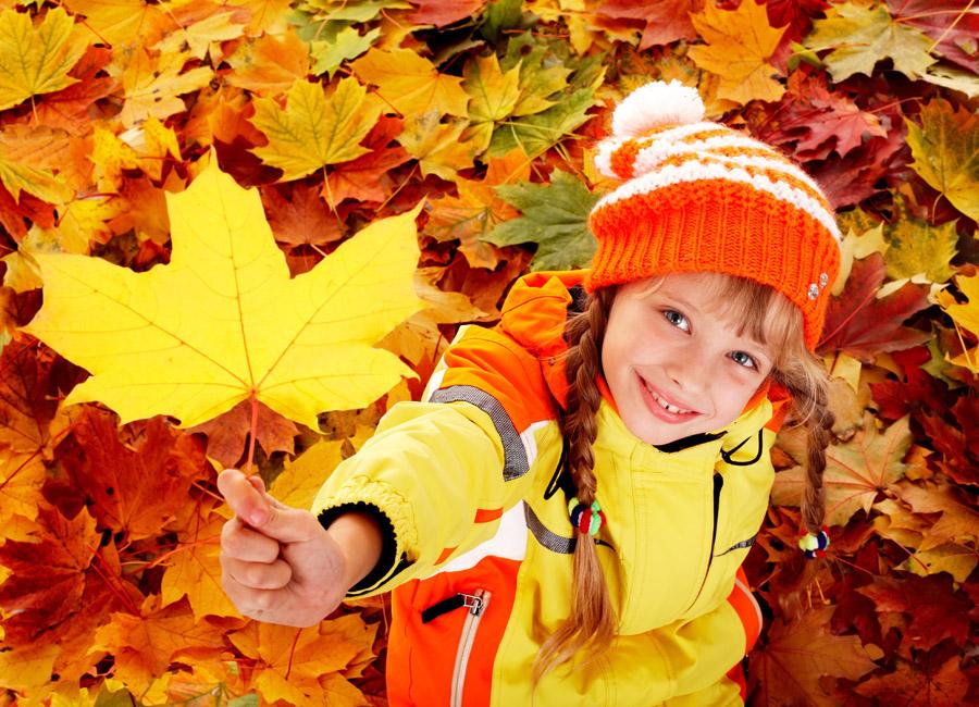 12 вещей, которые образцовый ребенок должен сделать осенью