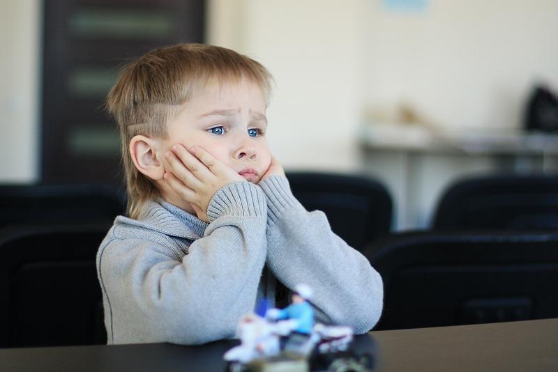 Когда ребенку скучно