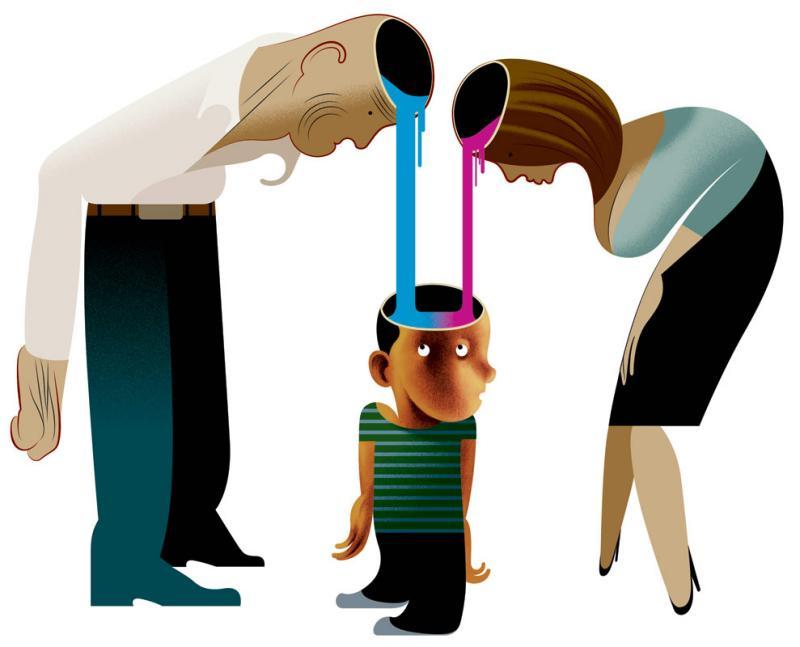 Стереотипы воспитания ребёнка и психосоматика