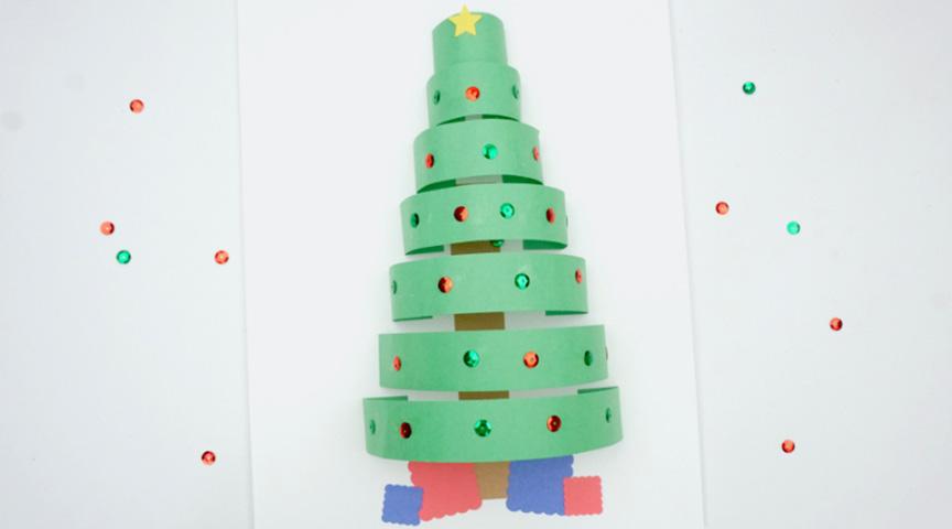 Интересная идея на тему «Новогодняя елка»!