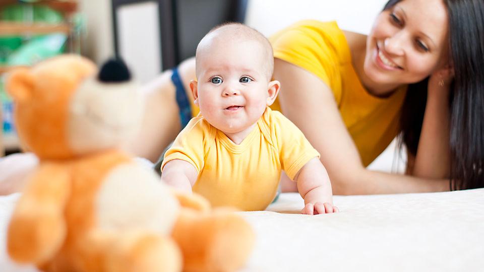 Основные этапы развития 4-месячного ребенка!