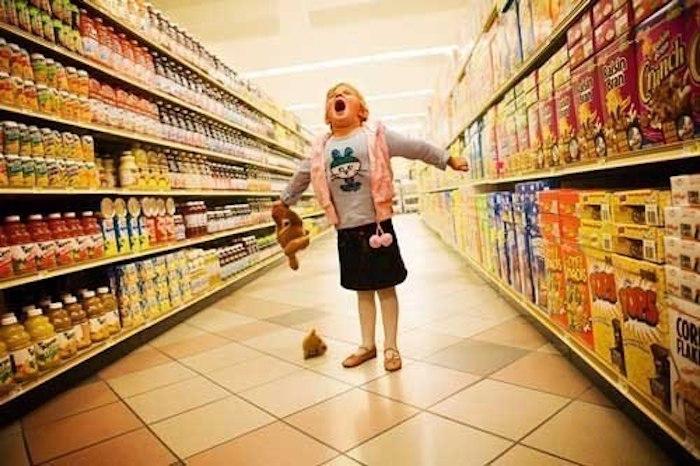 Как отказать ребенку в магазине