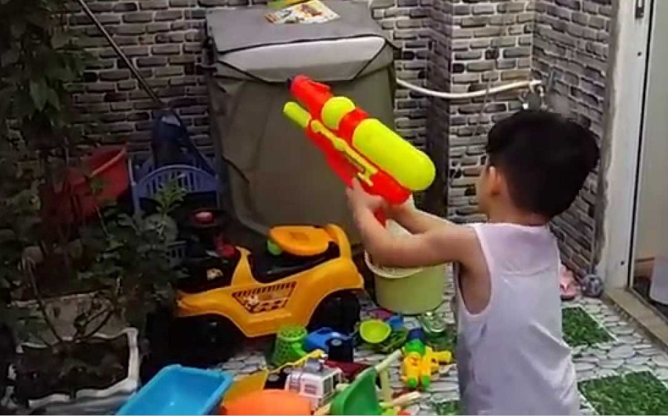 Водный пистолет — игрушка, которая не такая уж и безвредная!