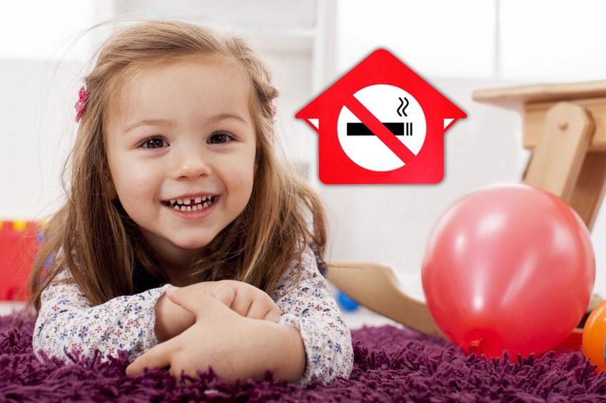 Как я могу защитить своего ребенка от пассивного курения в нашем доме?