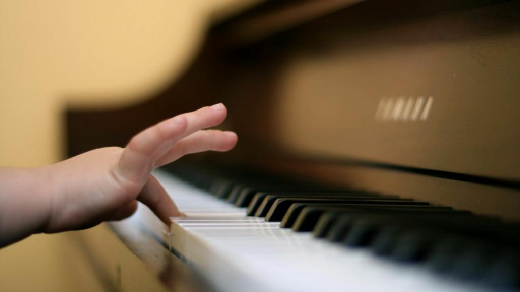 Пианино и дети!