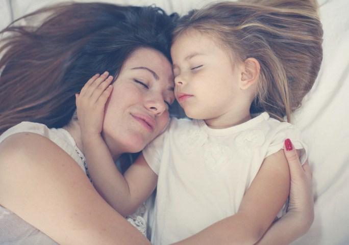 Моему ребенку: я буду лежать с тобой каждую ночь столько, сколько тебе нужно!