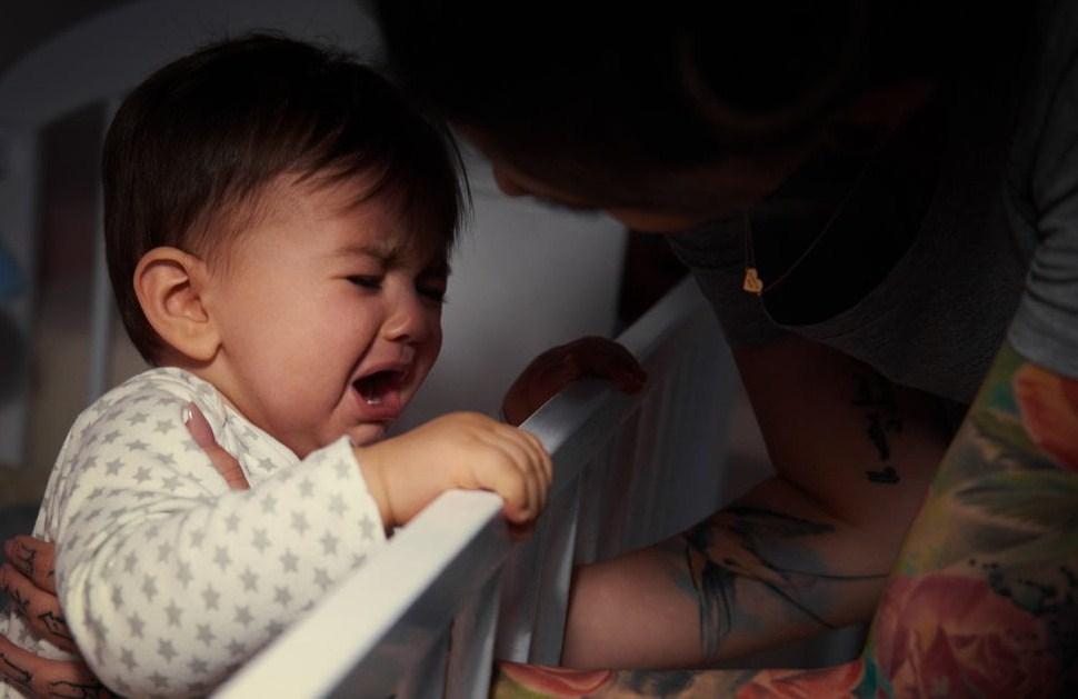 Регресс сна у младенцев и малышей!