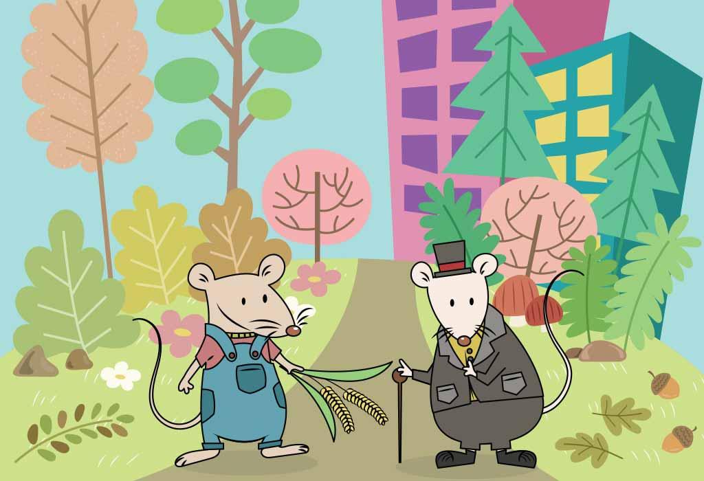 Городская мышь и мышь сельская: сказка о роскошной жизни для детей и взрослых