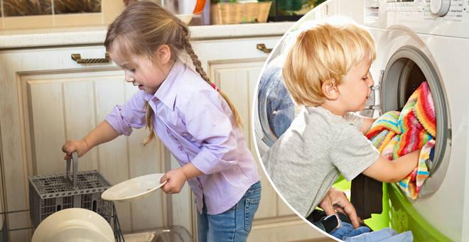 Важность работы по дому для детей
